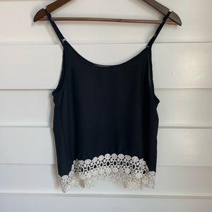 (NWOT) Liberty Love / Black Camisole